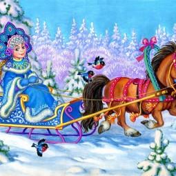 Творческий конкурс «Снегурочкин вернисаж»
