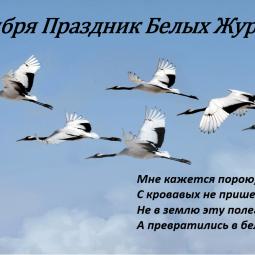 «Белые журавли»–литературный праздник