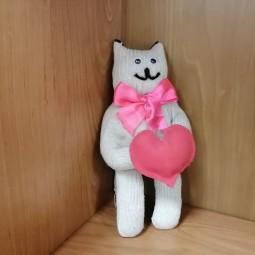 Онлайн мастер-класс «Перчаточный кот»
