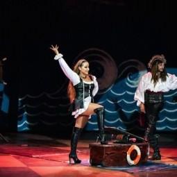 Цирковое представление «Пираты против пришельцев»