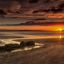 «Закат над морем»