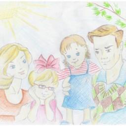 Онлайн-выставка «Моя любимая семья»
