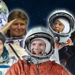 Великие в космосе