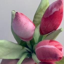 «Текстильные тюльпаны»