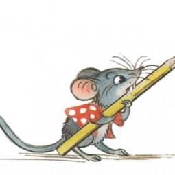 Виртуальная книжка «Мышонок и карандаш»