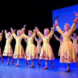 Открытый урок студии народного танца «Юность»