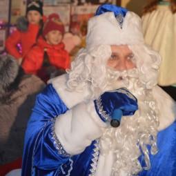 Отъезд почты Деда Мороза