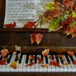 Концертная программа «Мудрой осени счастливые мгновения»