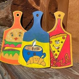 Мастер–класс по росписи деревянной заготовки «Гастрономическое путешествие»