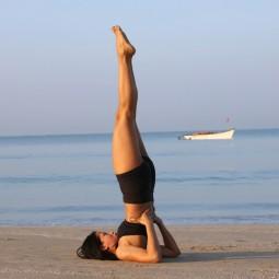 «Упражнения на гибкость. Как встать в березку»