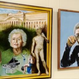 Выставка живописи «Сюжетный портрет»