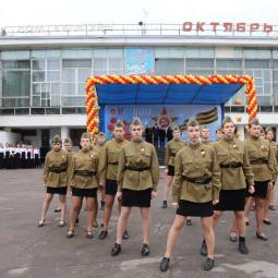 Показ записи концерта, посвященного празднованию 70-летия Великой Победы