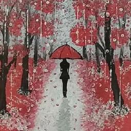 Выставка рисунков «Осенние мотивы»