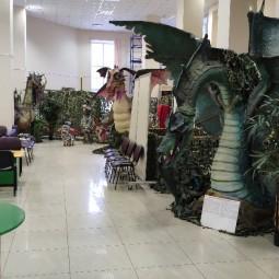 Выставка «Мир драконов»