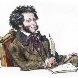Видеоролик «Я Пушкина читаю строки…»