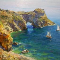Выставка «Пейзажи Крыма»