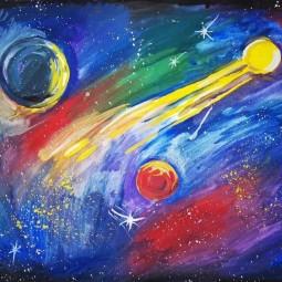 Выставка «Полёт к звёздам»