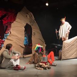 Спектакль «Вождь краснокожих»