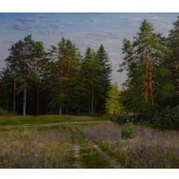 Выставка работ Е. Дубровникова «Русская природа»