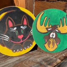 Мастер–класс по росписи деревянной заготовки «Любимые животные»