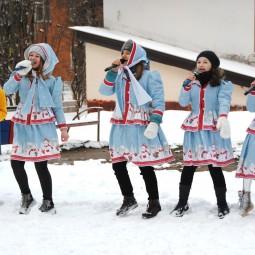 Видеозапись песни «Зима-зима!»