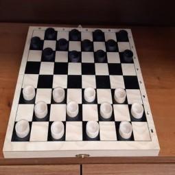 Час развлечений «Играем в шашки»