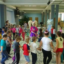 Детская игровая программа «Весенние каникулы с фиксиками»