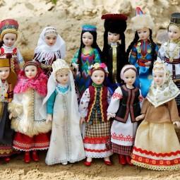 Виртуальная встреча «Куклы в народных костюмах»