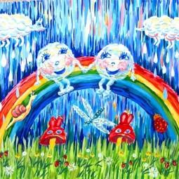 Выставка детского рисунка «Этот красочный мир»