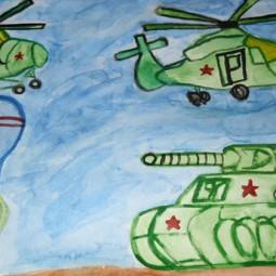 Выставка «Наши защитники»