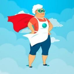 Супер-бабушка