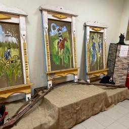 Выставка картин Вадима Сташкевича «Окна времени. Цветы и лица забытых баталий»