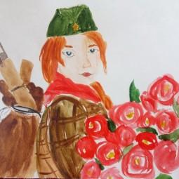 Виртуальная выставка «Дети о войне. Дети за мир»