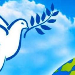 Книжная выставка «День мира в библиотеке»