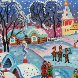 Выставка «Зимняя симфония»