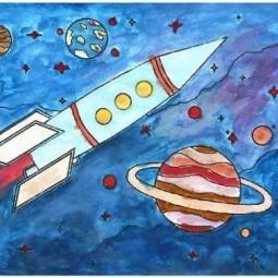 Выставка «Космические просторы»