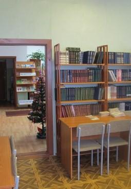 Библиотека поселка ЦУС «Мир»