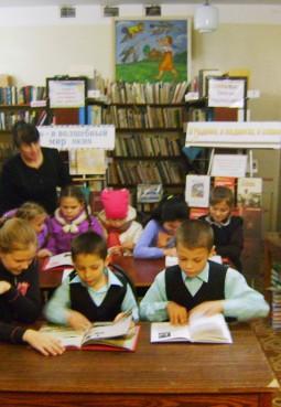 Ошейкинская сельская библиотека-филиал № 13
