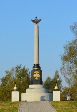 Памятник 2-й кирасирской дивизии генерала И. М. Дуки