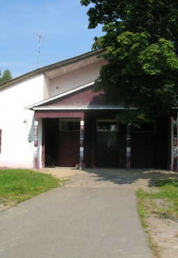 Дом культуры деревни Поповская