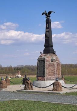 Памятник 2-й гренадерской генерала К. Мекленбург-Шверинского и 2-й сводно-гренадерской генерала М. С. Воронцова дивизиям