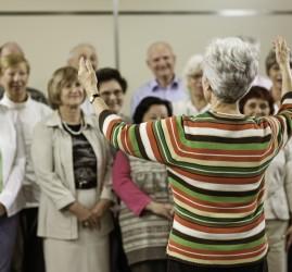 Занятия народным вокалом для пожилых