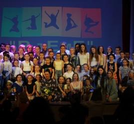 Отчетный концерт студии современного танца