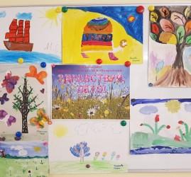 Открытый урок студии изобразительного искусства «Весенний пейзаж»
