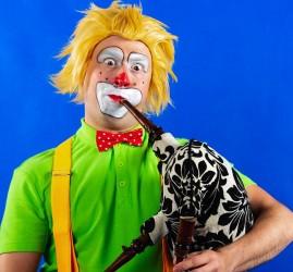 Музыкальный спектакль «Клоун Рон Клаксон приглашает!»