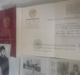 Выставка «Земляки-участники боевых действий новейшей истории»