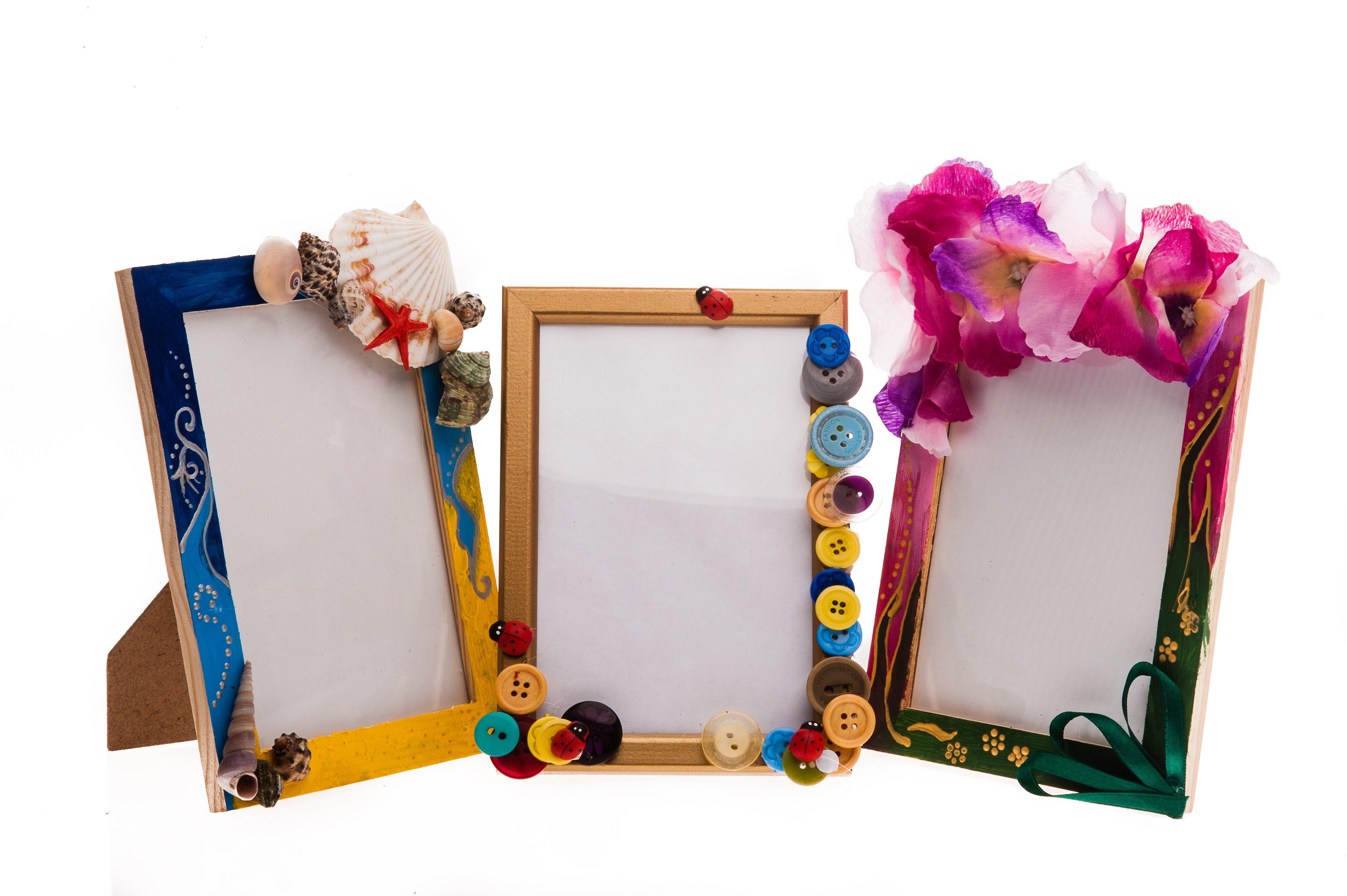 Рукотворные рамочки для фотографий