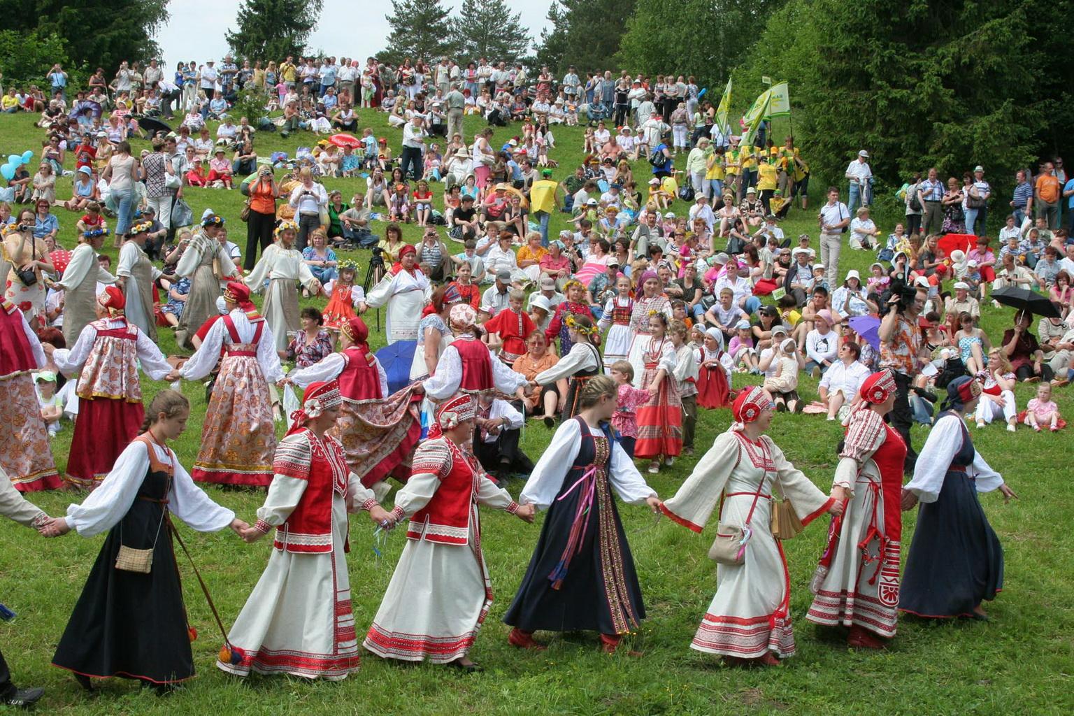 Картинки хоровода русского