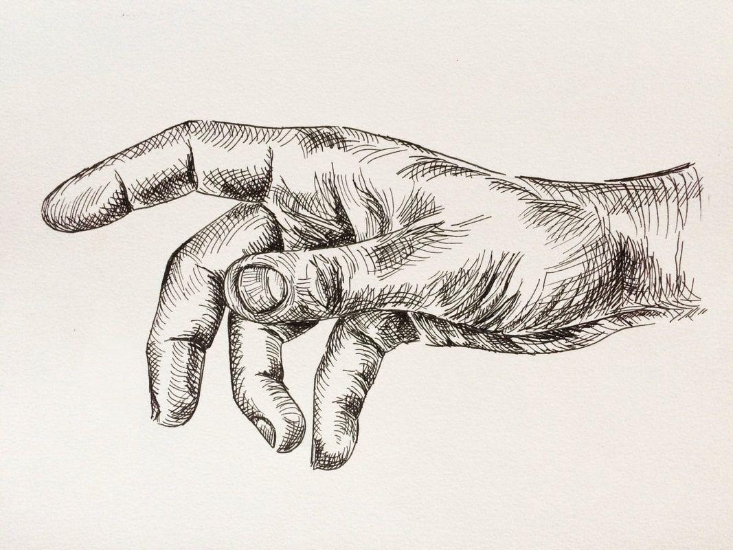 creative hand drawings - HD1067×800