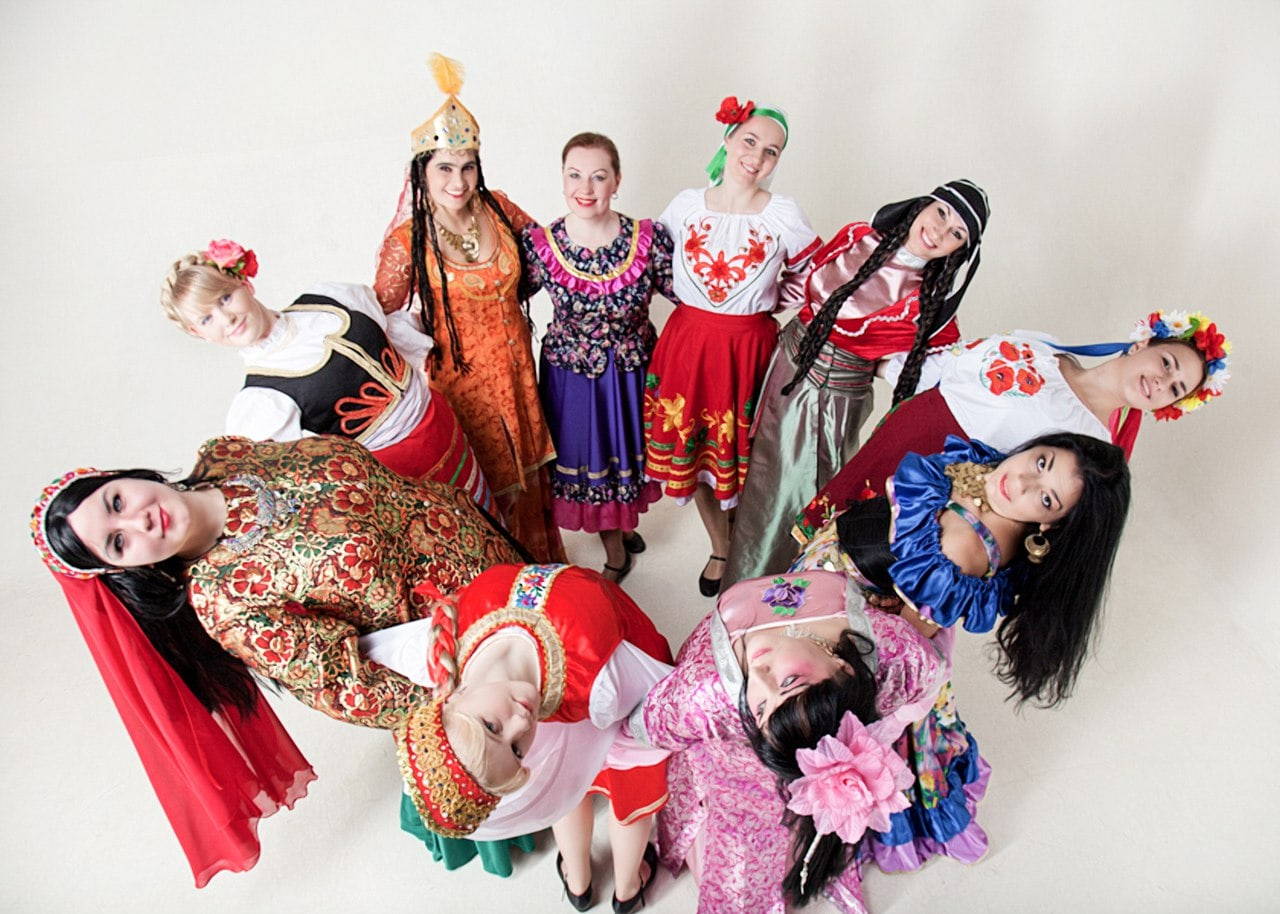 разнообразная культура в мире фото покажу
